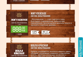 Алтайский колос, Жигулевское, Вобла красное